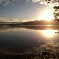Lake Chatuge sunrise