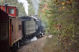 scenic railroad close-up