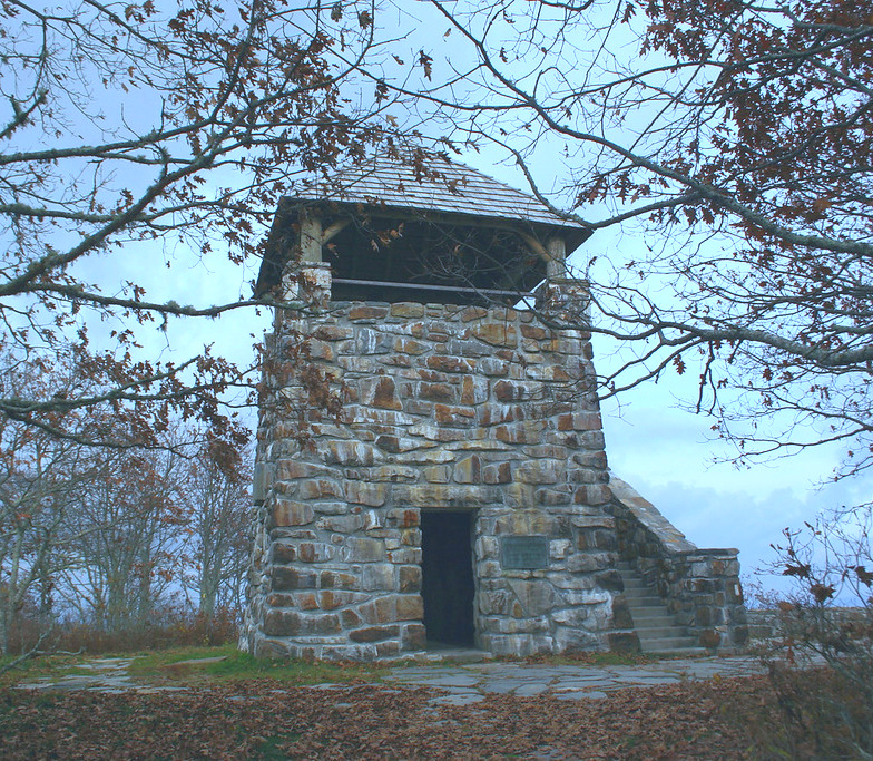 wayah fire tower