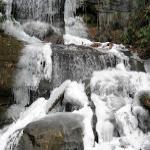 DeSoto Falls frozen